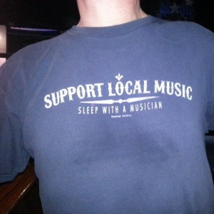 Support Local Music Shirt