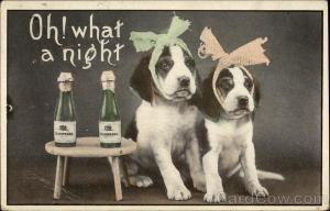 New-Year-card-1912-dogs-w-hangover
